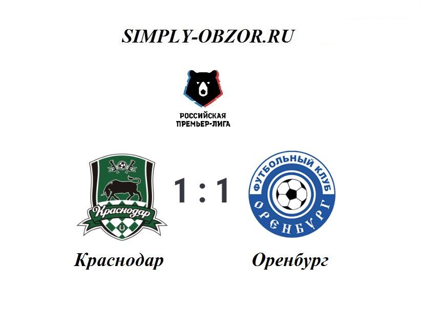 krasnodar-orenburg-27-10-19-obzor